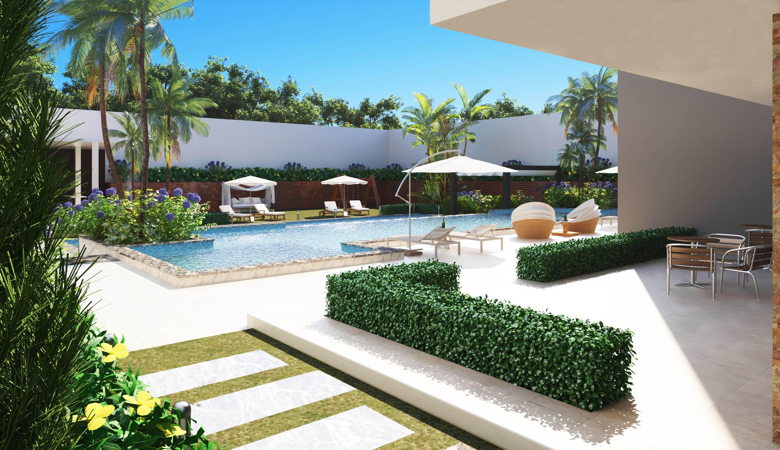 2 modern villa