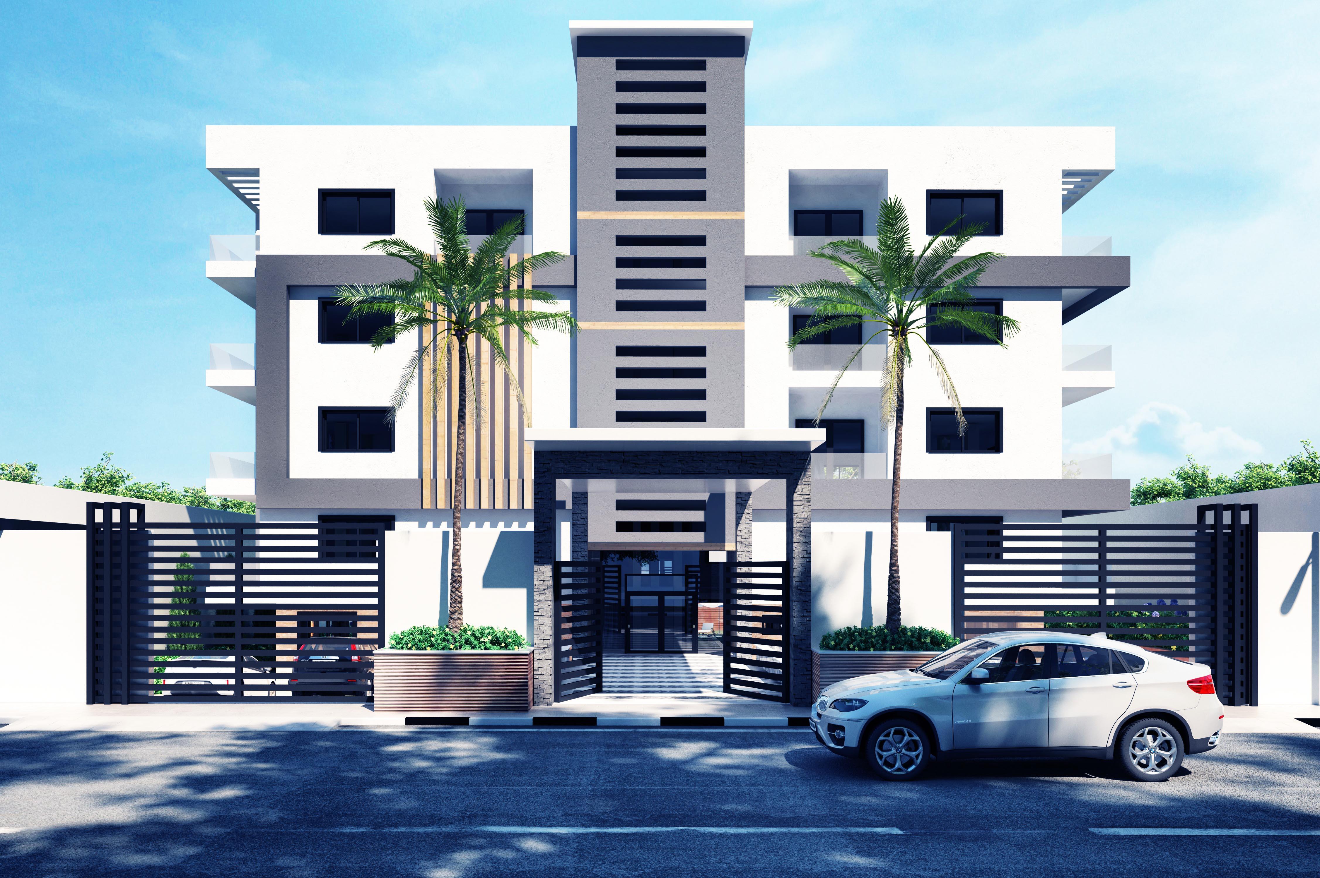 6 modern villa