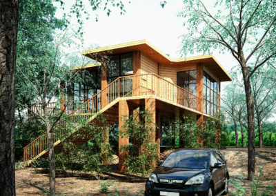 FOREST HOUSE DESIGN PROPOSAL IN AUSTRALIA